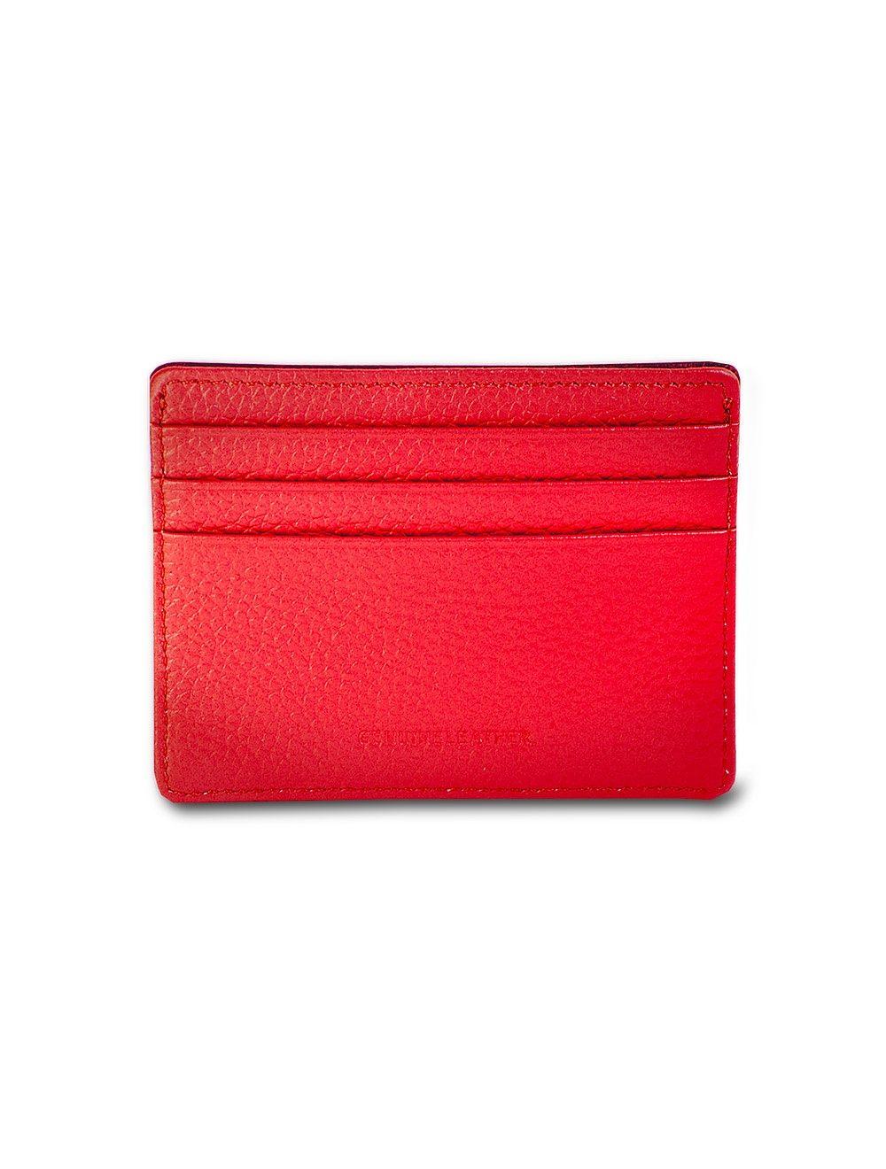 Cambridge Wallet - Cherry Red