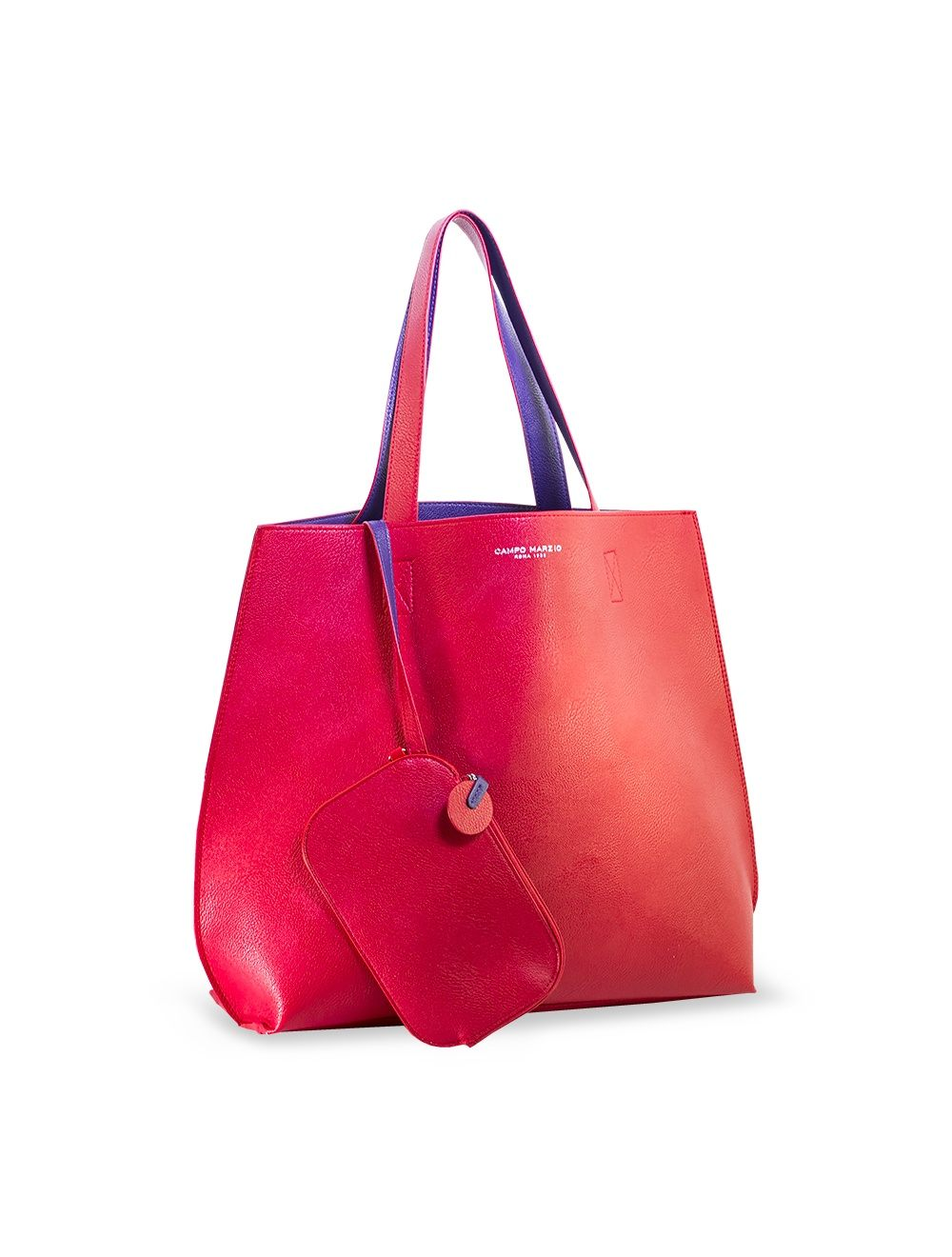 Colour Spring Tote Bag - Cherry Red