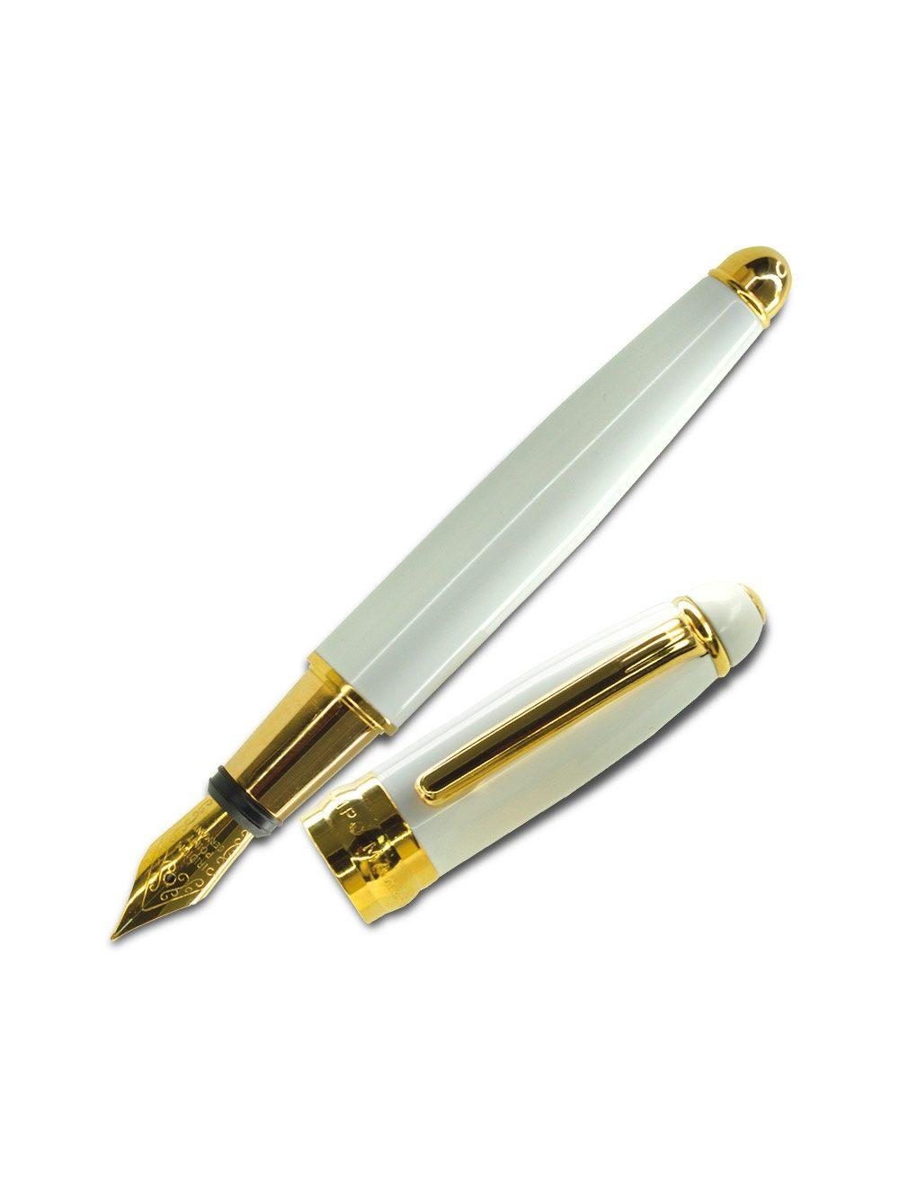 Minny Fountain Pen - White