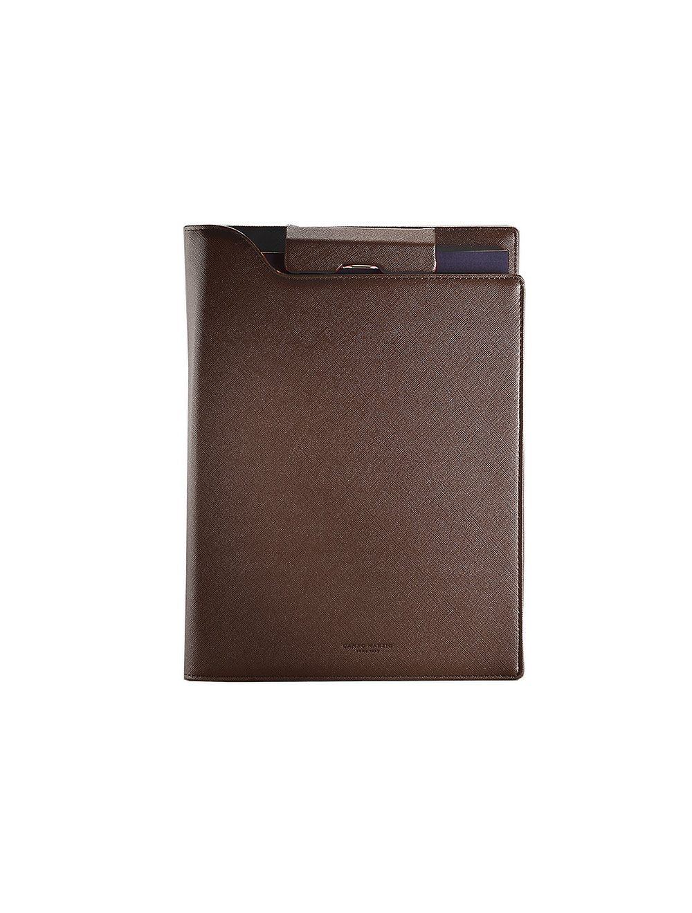 Portfolio Clip A4 - Brown
