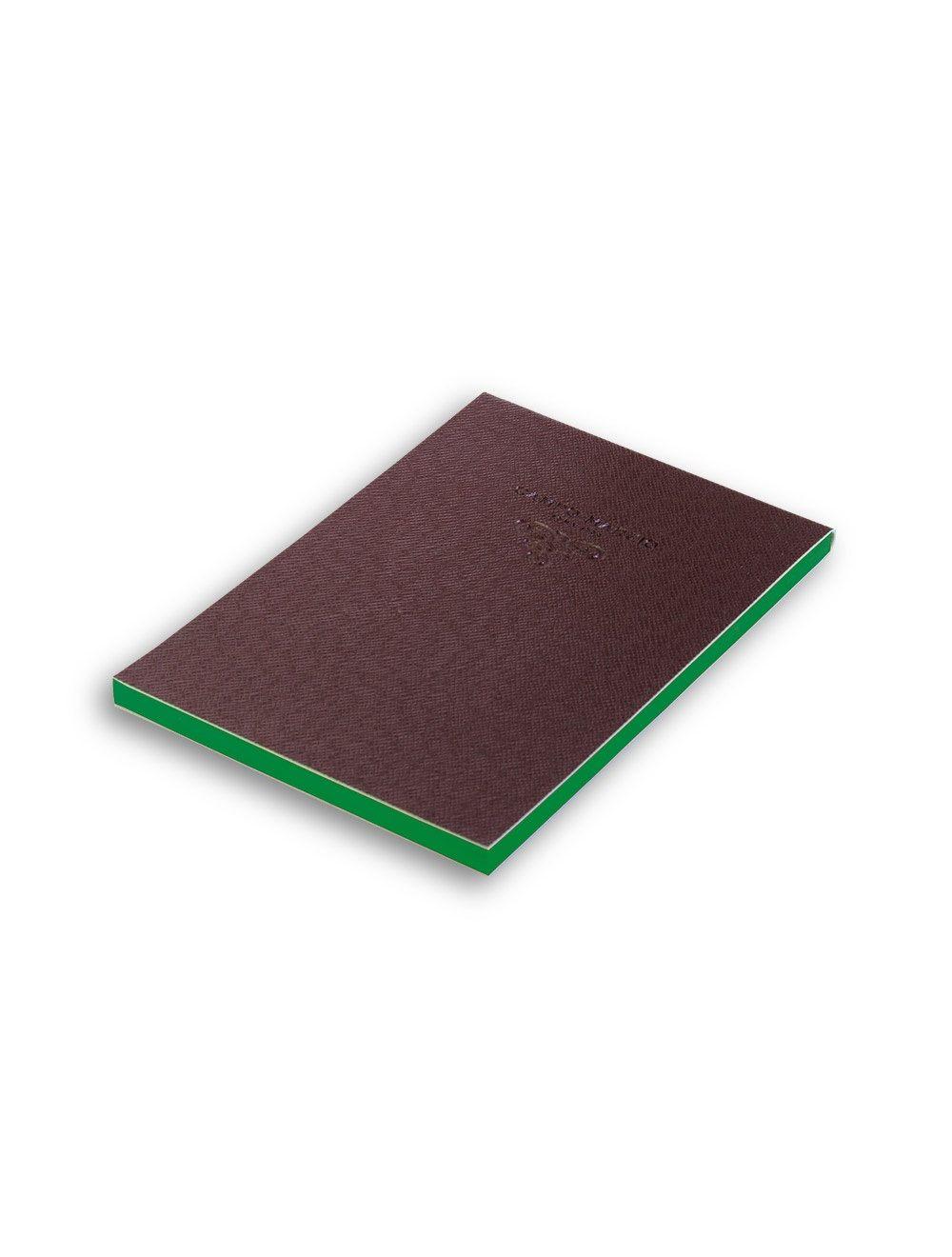 Notes 11x16 cm Saffiano - Brown