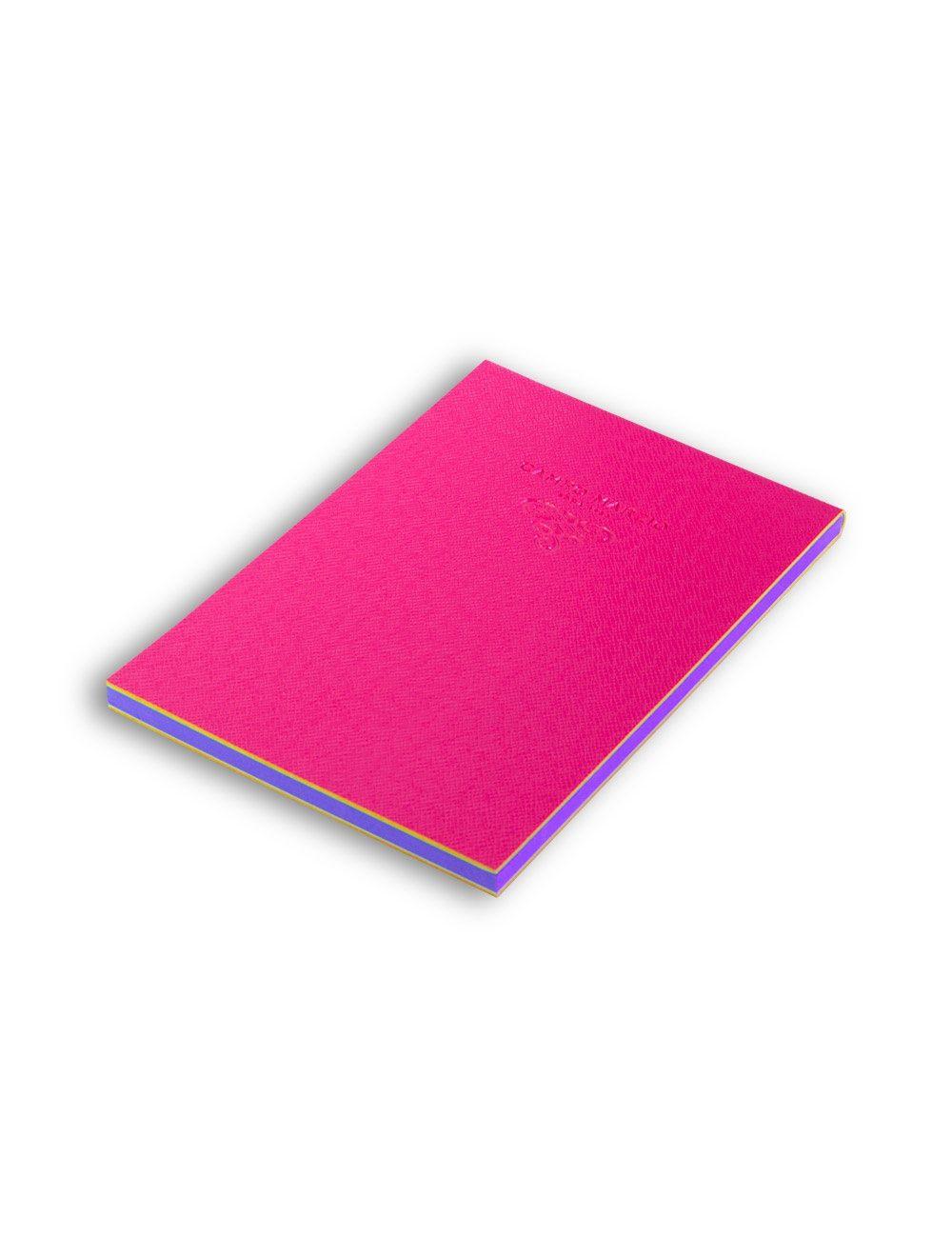 Notes 11x16 cm Saffiano - Hot Pink