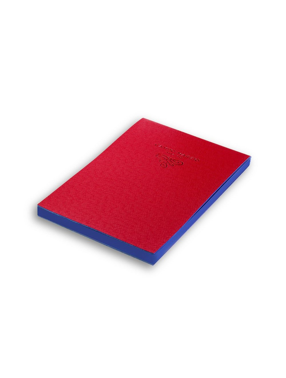 Notes 11x16 cm Saffiano - Cherry Red
