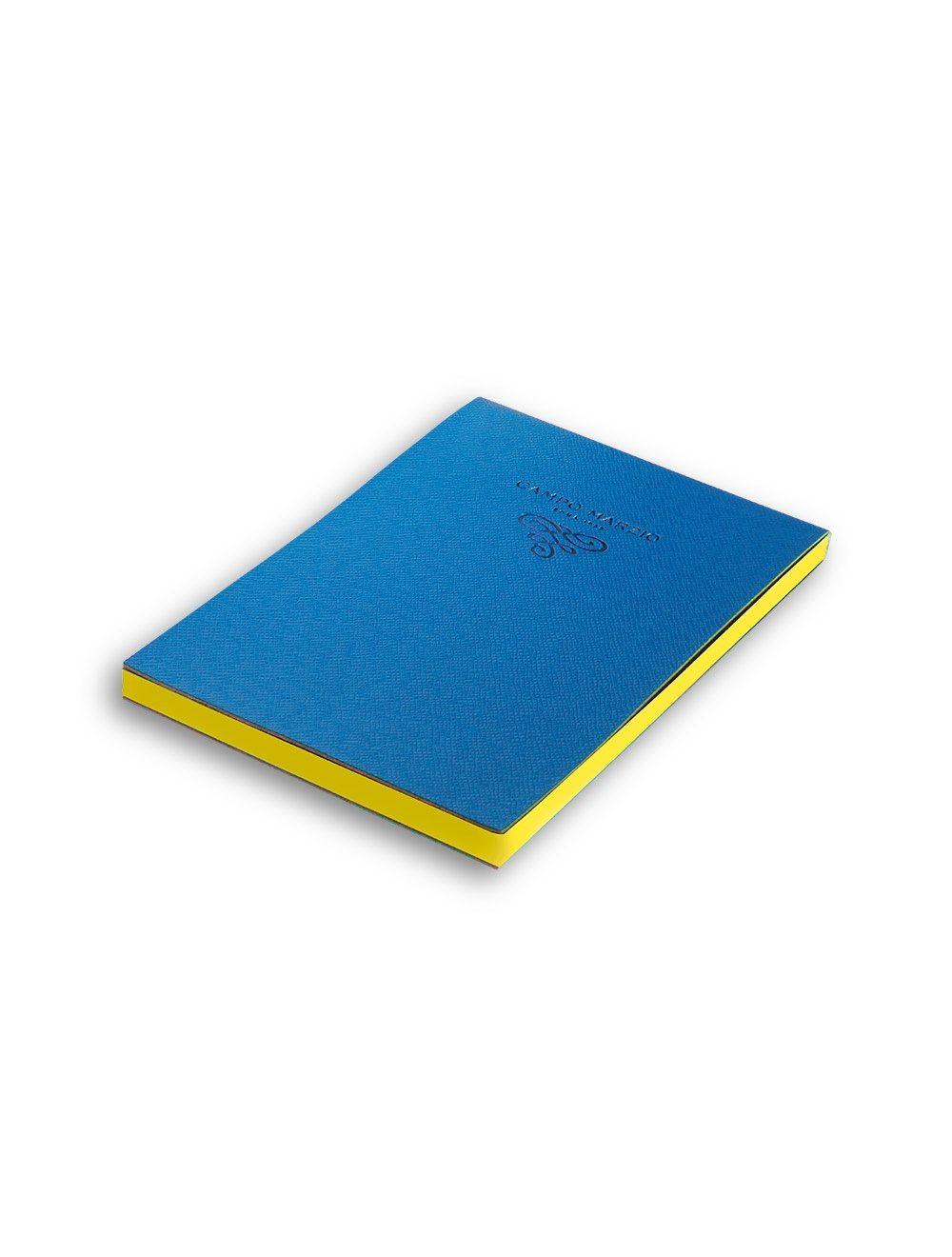 Notes 11x16 cm Saffiano - Ocean Blue