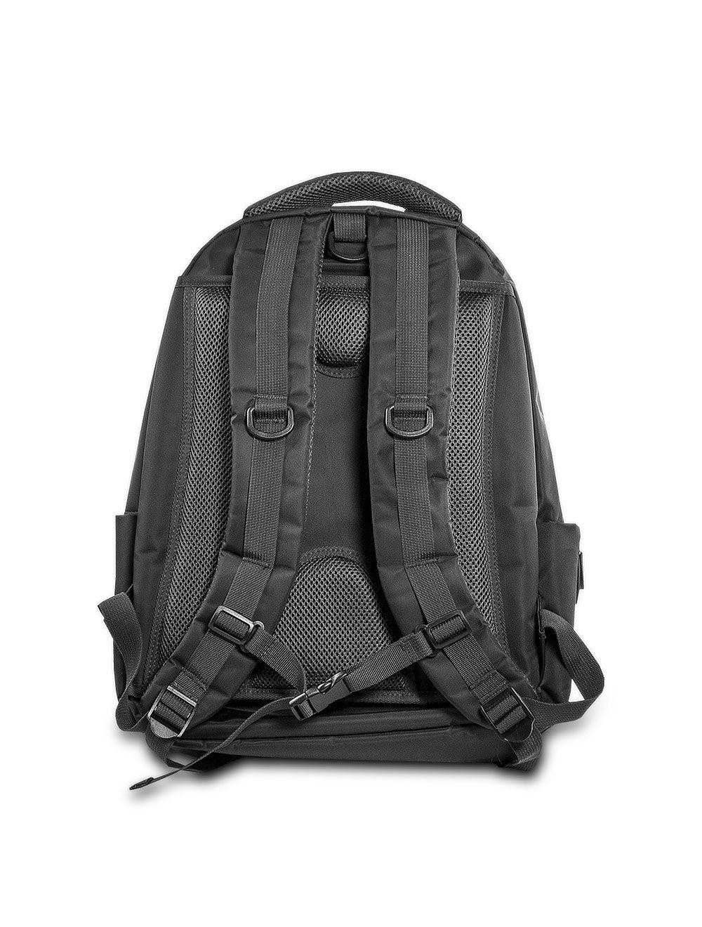 Backpack Nylon/Leather - Black