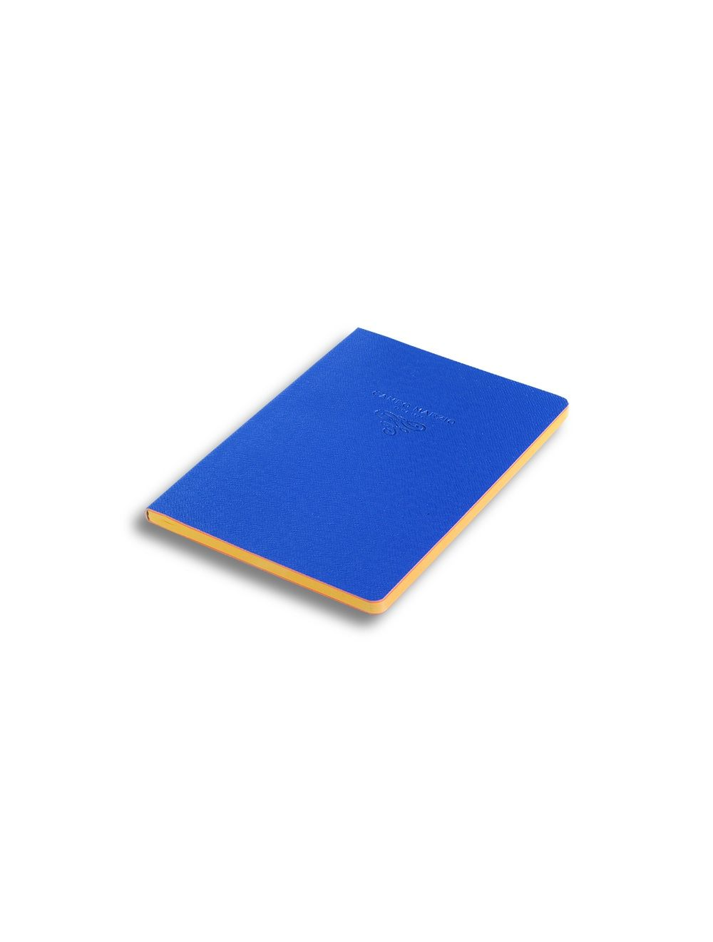Journal 16,5 X 23,4 Cm - Coloured Internal Paper  - Ocean Blue