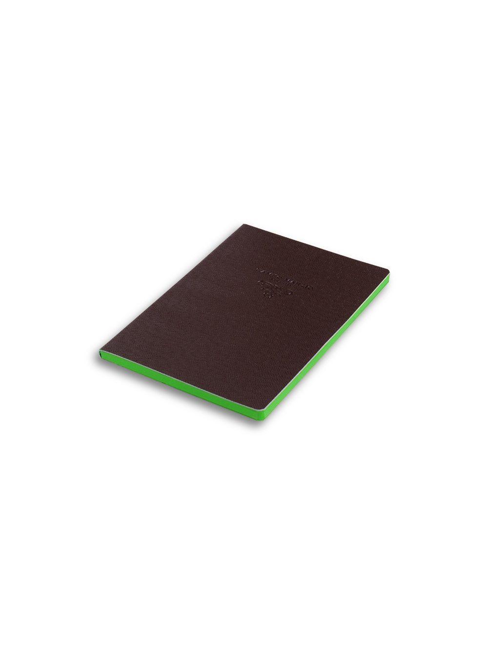 Journal 16,5 X 23,4 Cm - Coloured Internal Paper  - Brown