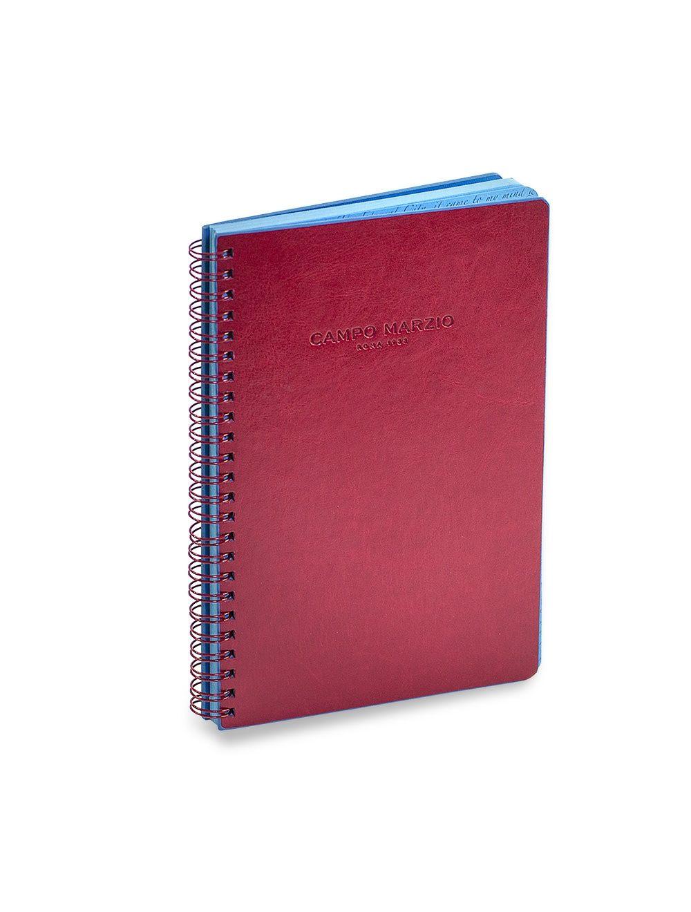 Spiral Bound Notes A4 - Cherry Red