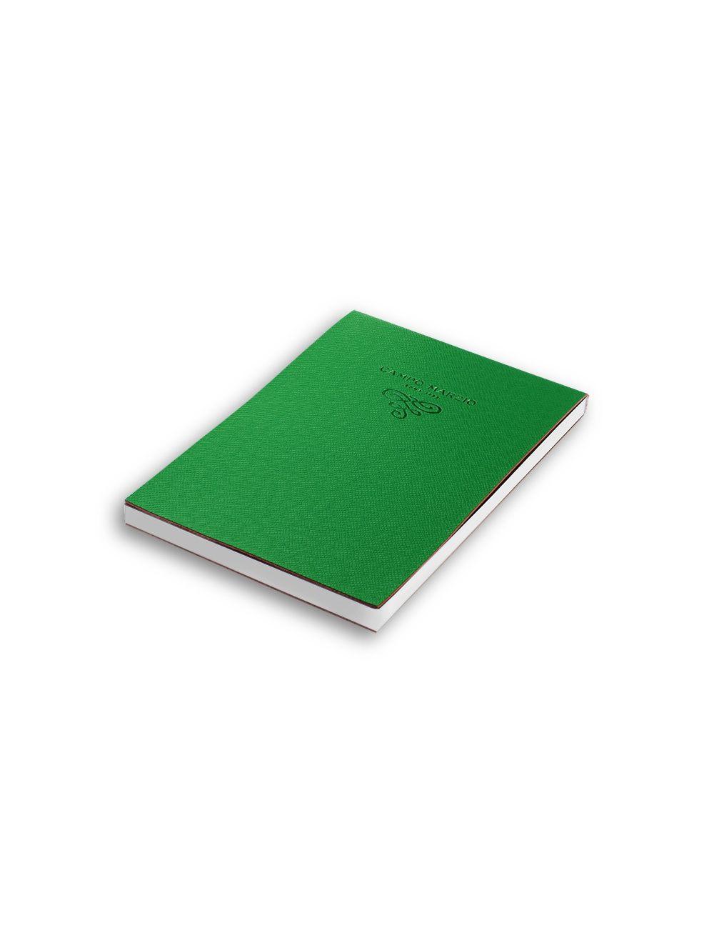 Notes 11x16 cm Saffiano (white internal paper) - Pine