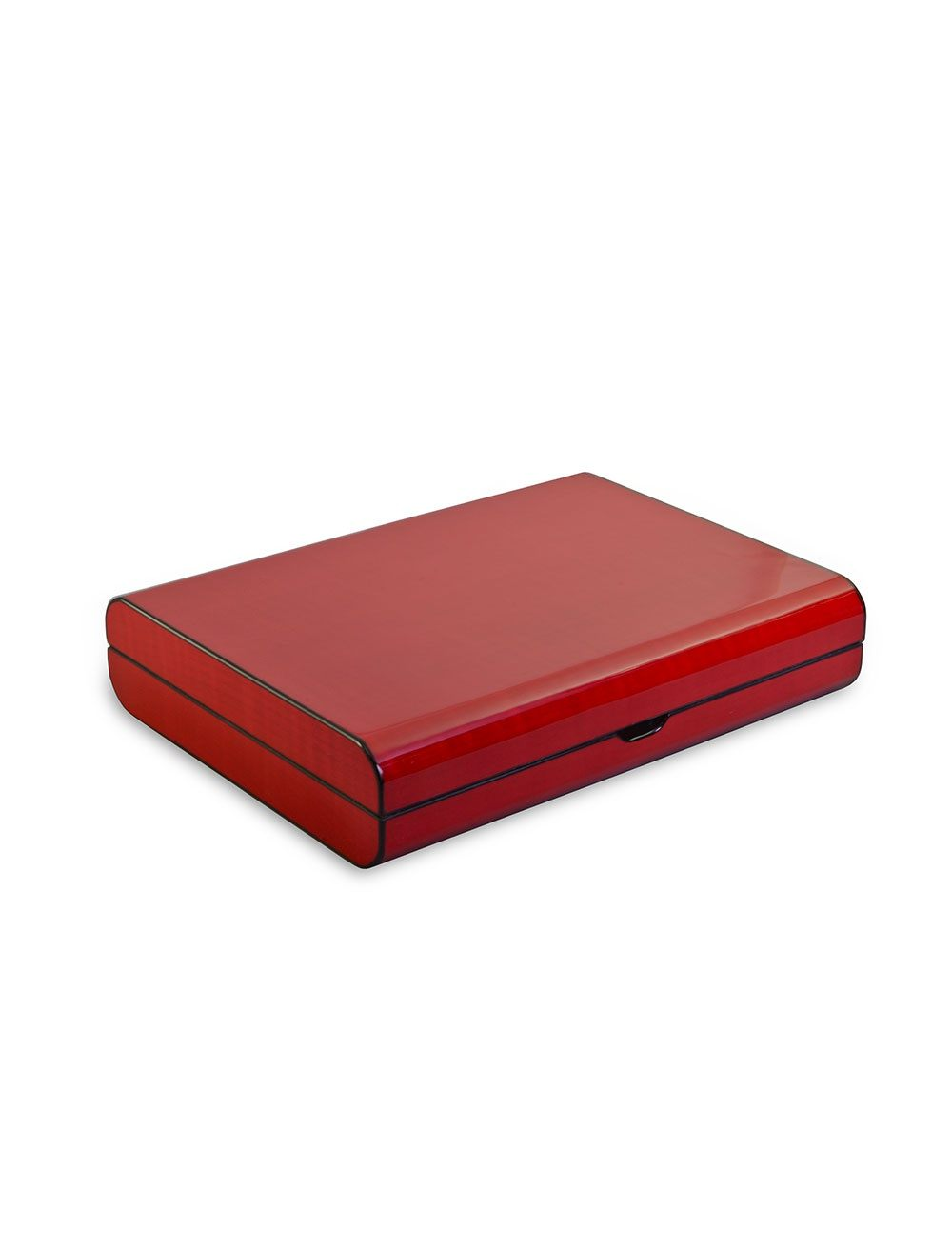Cigar Wooden Box - Cherry Red