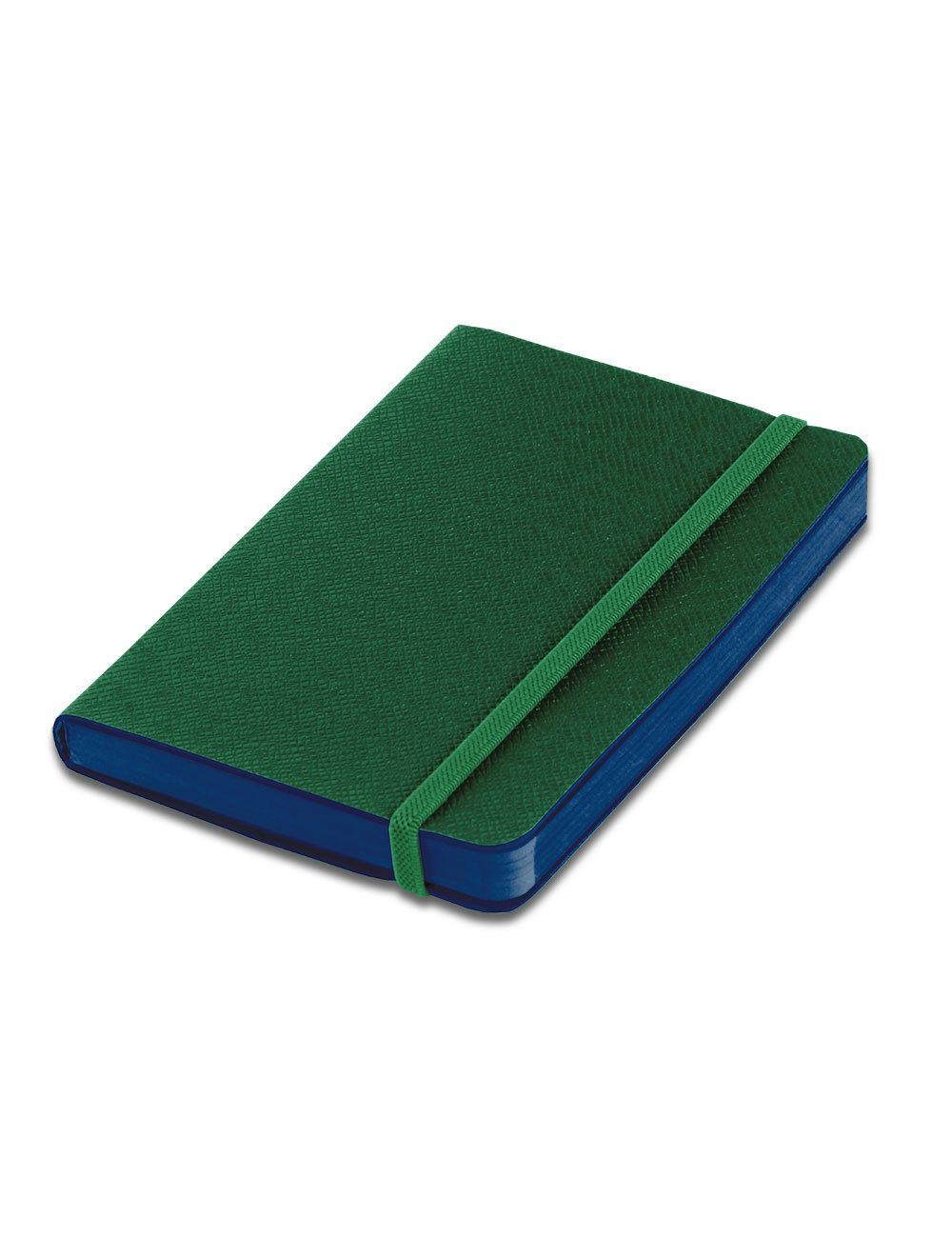 Journal Con Elastico 14,5 X 21 Cm - Coloured Internal Paper  - Pine