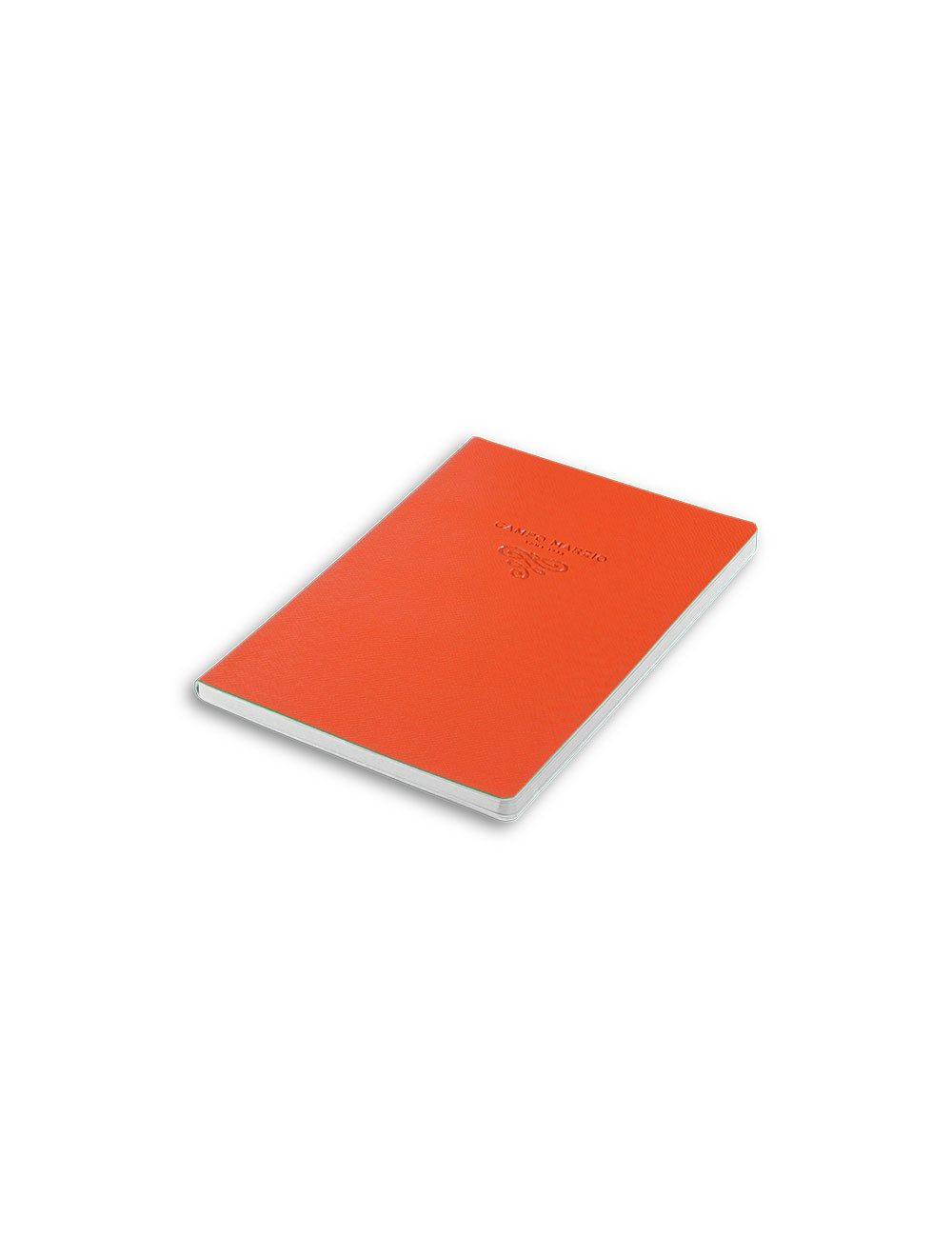 Journal 16,5 X 23,4 Cm - White Internal Paper - Mandarin