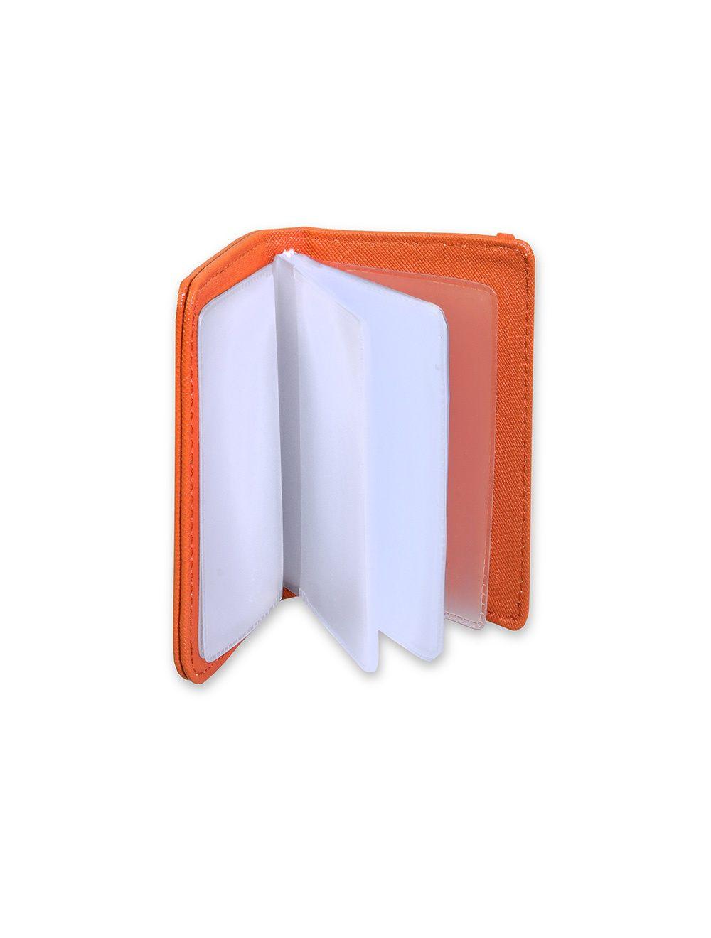 Credit Card W/Elastic - Mandarin