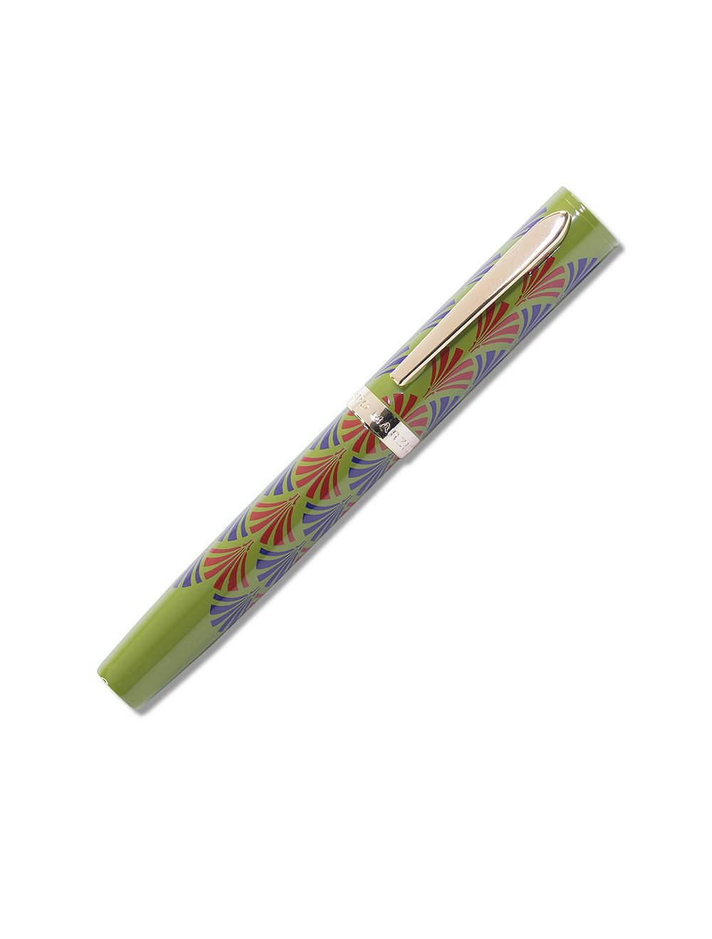 Laquered Bijoux Mini Pen - Olive Green