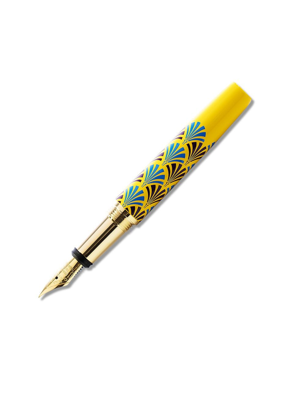 Laquered Bijoux Mini Pen - Canary Yellow