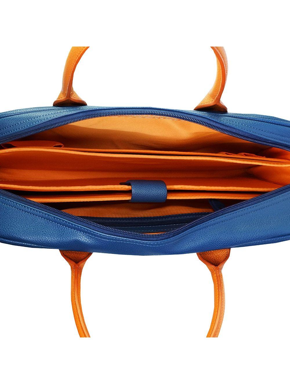 Moda Eco Computer Bag - Petrol Blue