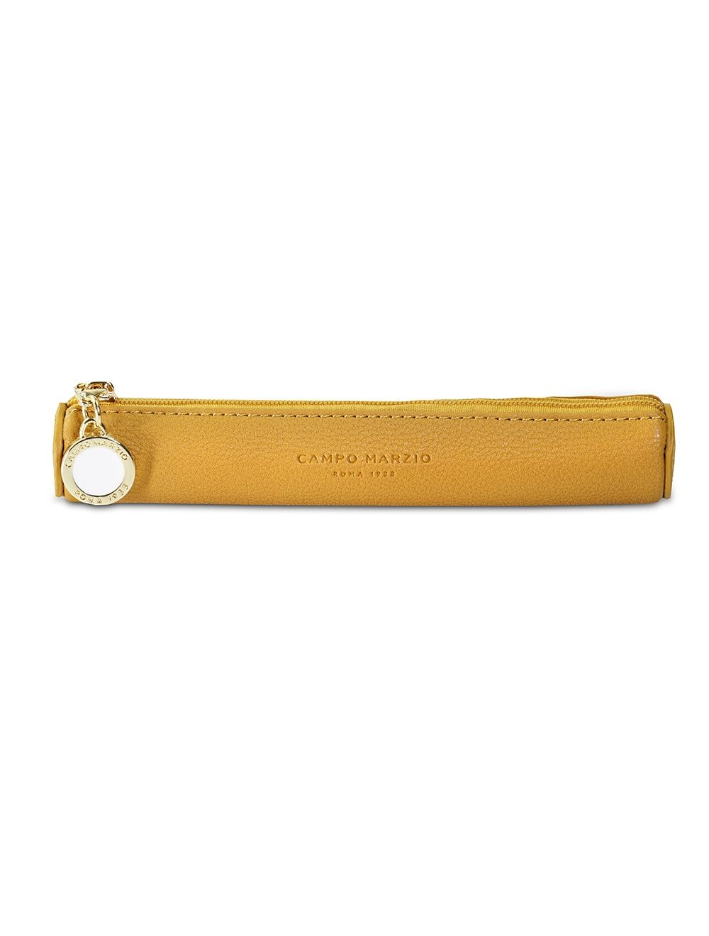Large Pen Case W/Tag - Golden Yellow