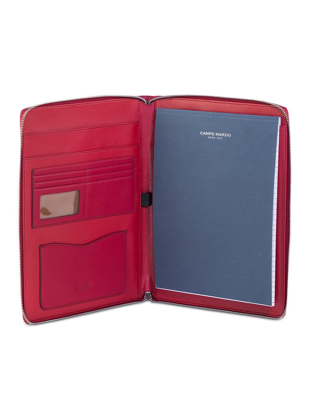 Portfolio A4 Leather - CHERRY RED
