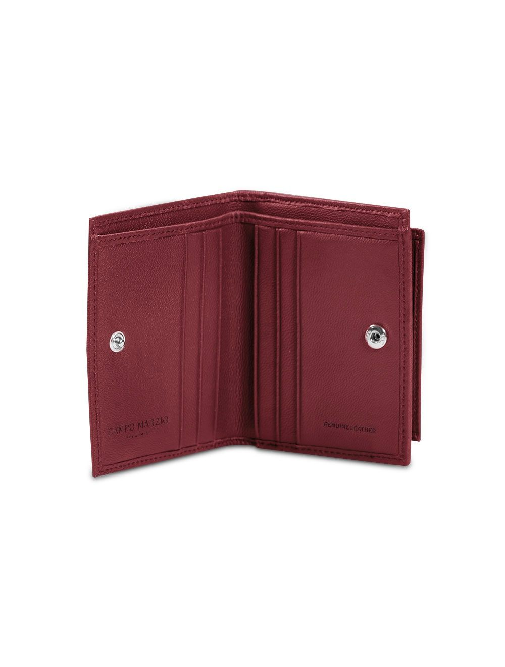 Pocket Coin Wallet - Cherry Red