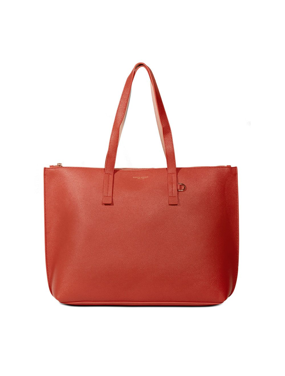 Tote Bag with Accessories (3 in 1) - Tangerine Tango