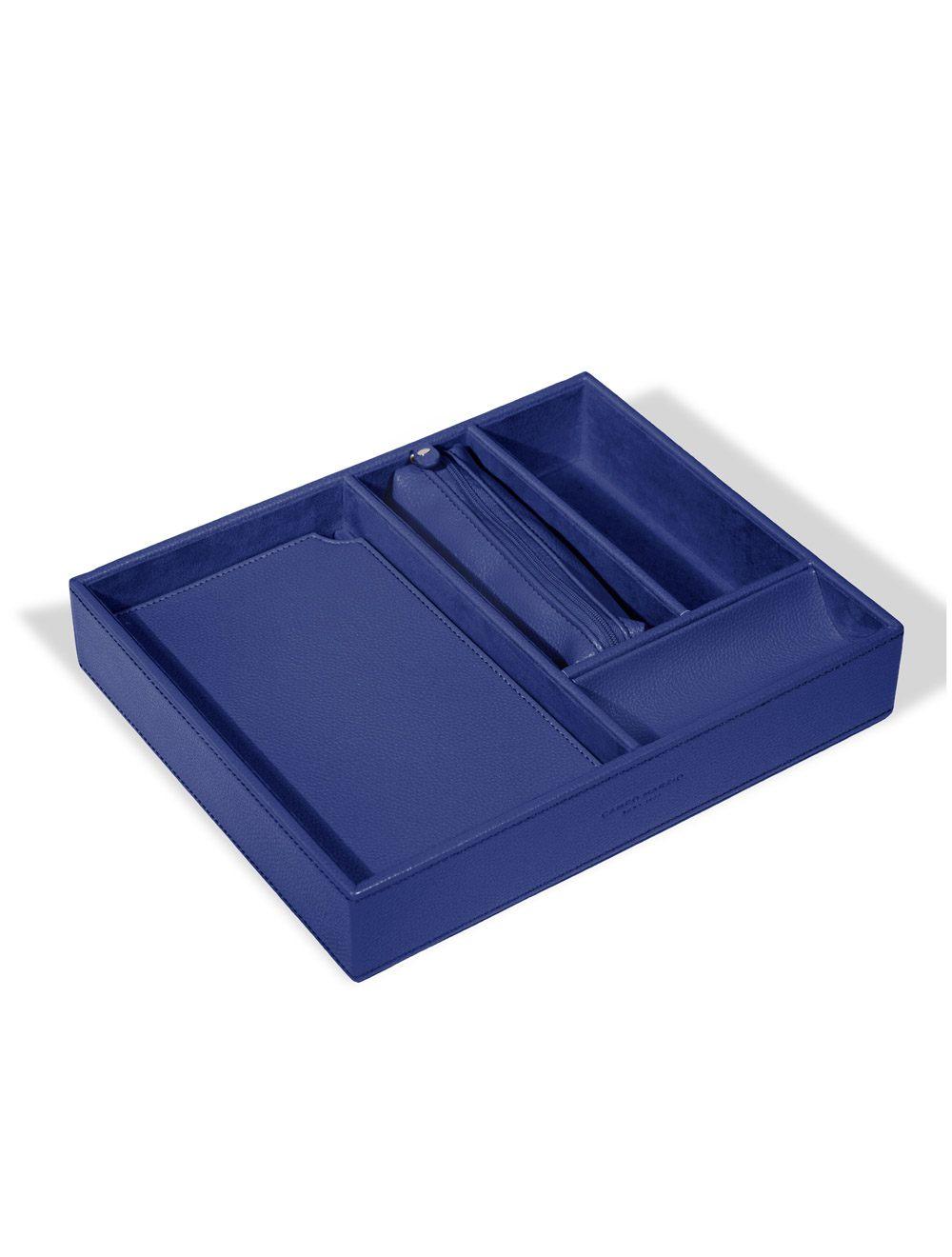 Desk Organiser Voltaire - Ocean Blue