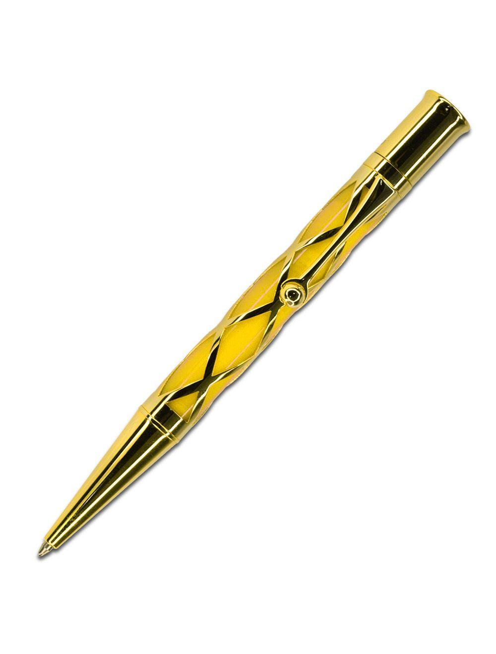 Bohemian Style Ballpoint Pen - Gold Mandarin