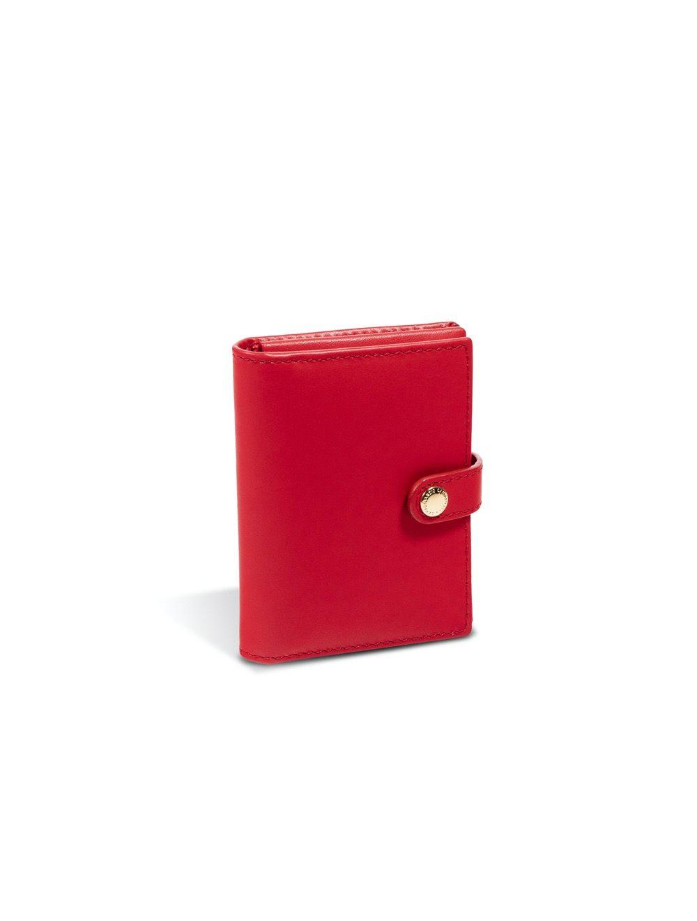 Romy Business Card Holder - Flame Scarlet