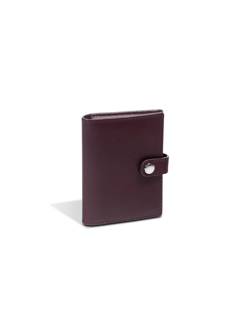 Romy Business Card Holder - Ruby Wine