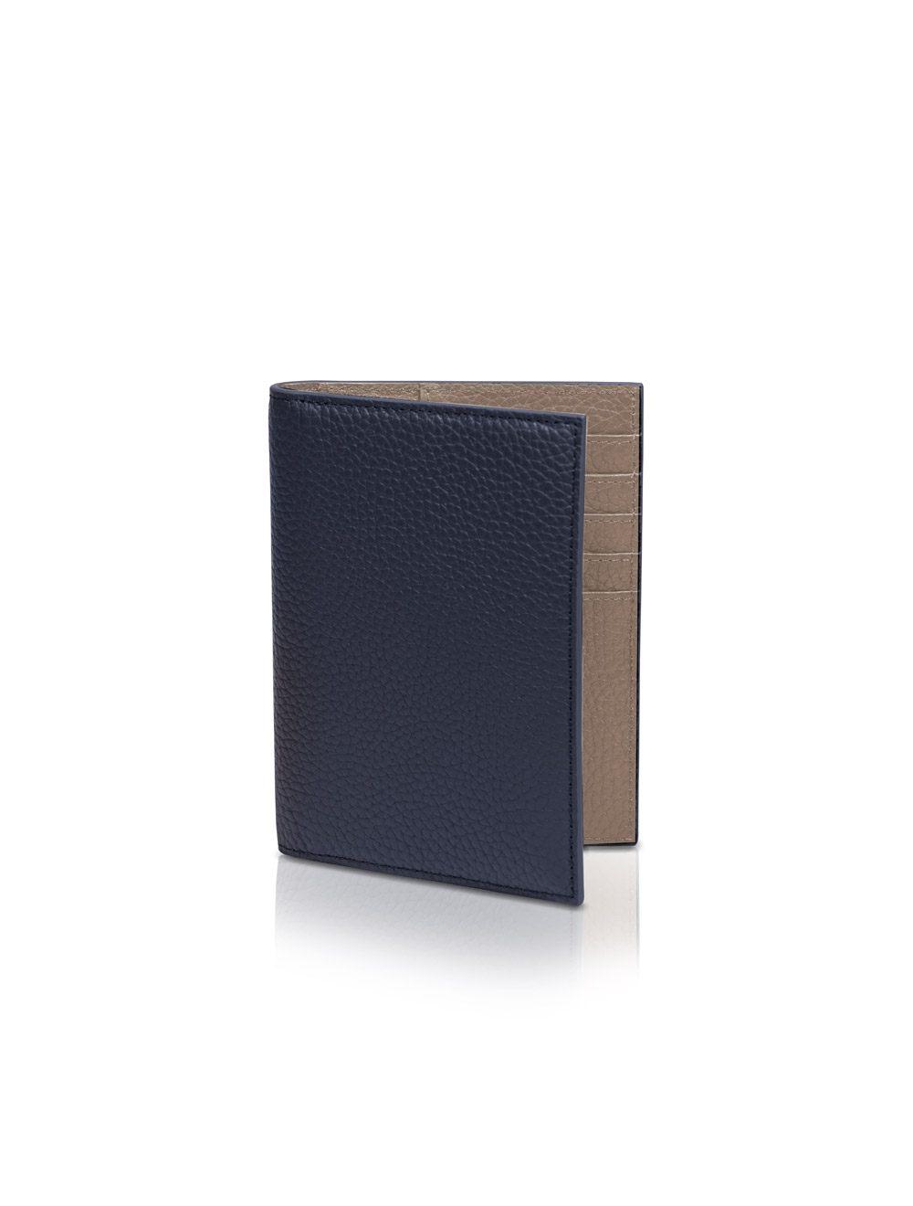 Passport Holder Gunther - Ocean Blue
