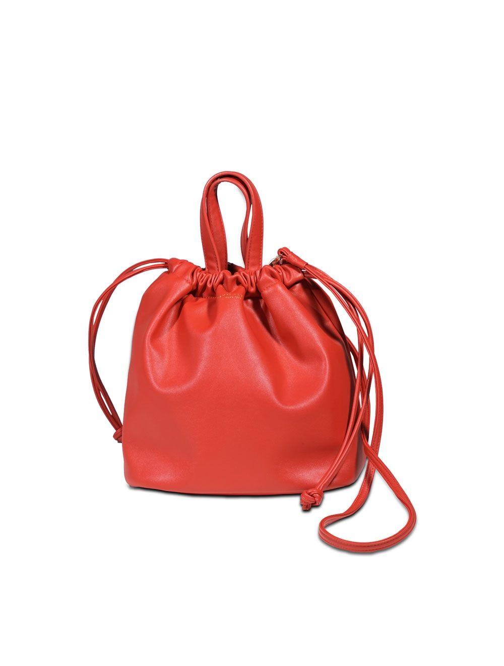Jeanne Bucket Bag - Flame Scarlet