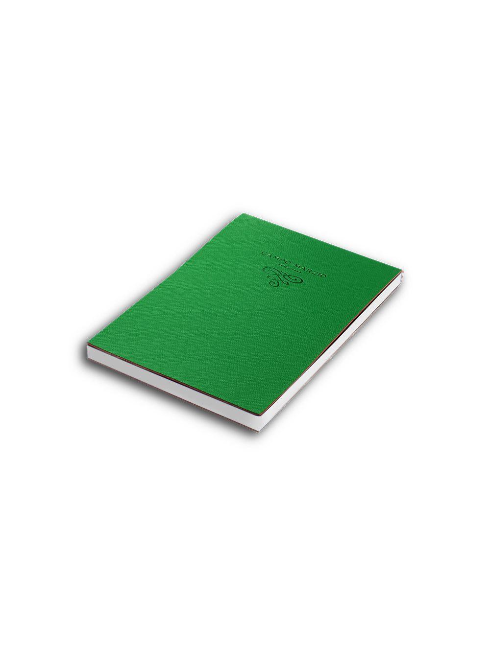Notes 15 X 21 Cm Saffiano White Page - Pine