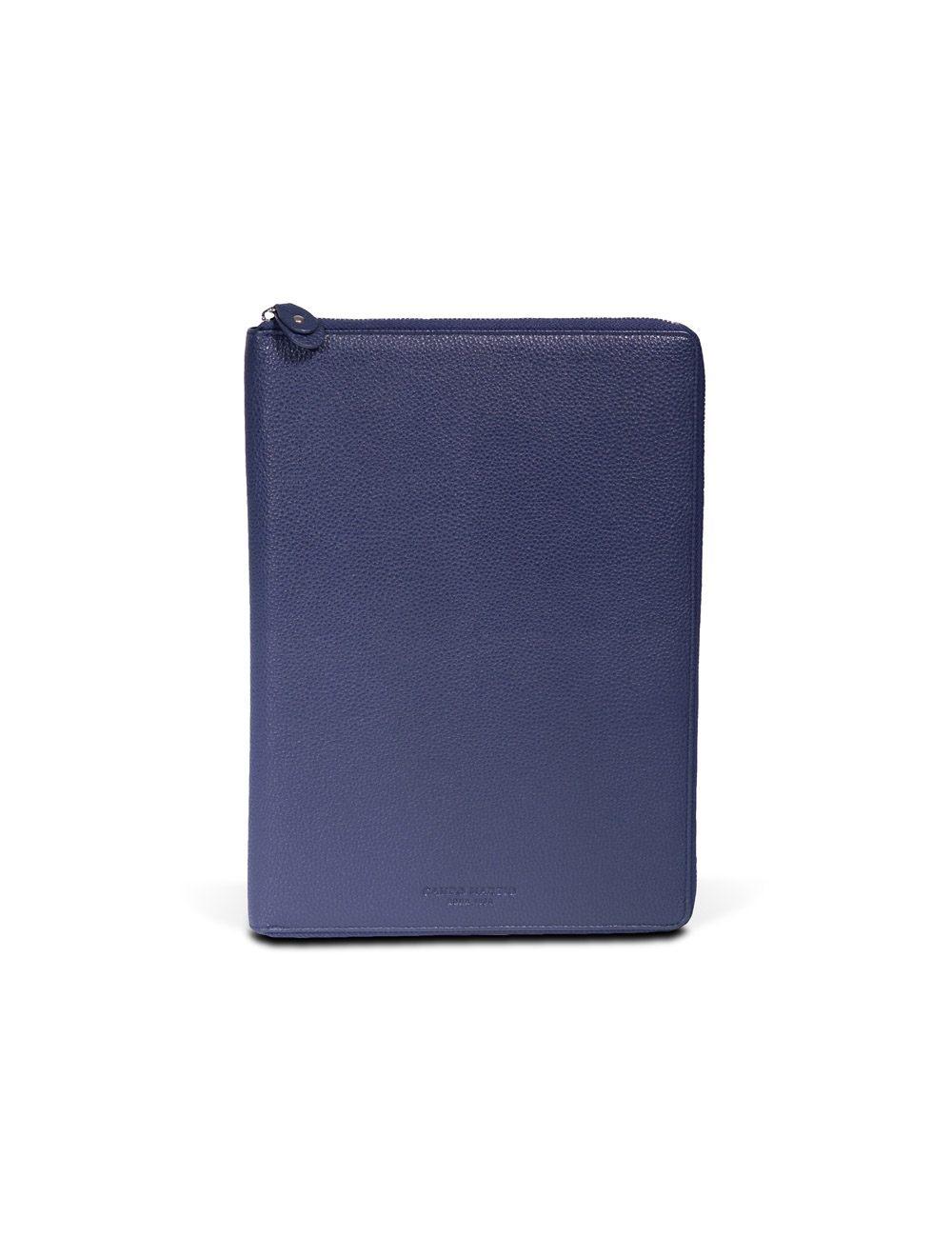 Portfolio Zip A4 - Ocean Blue