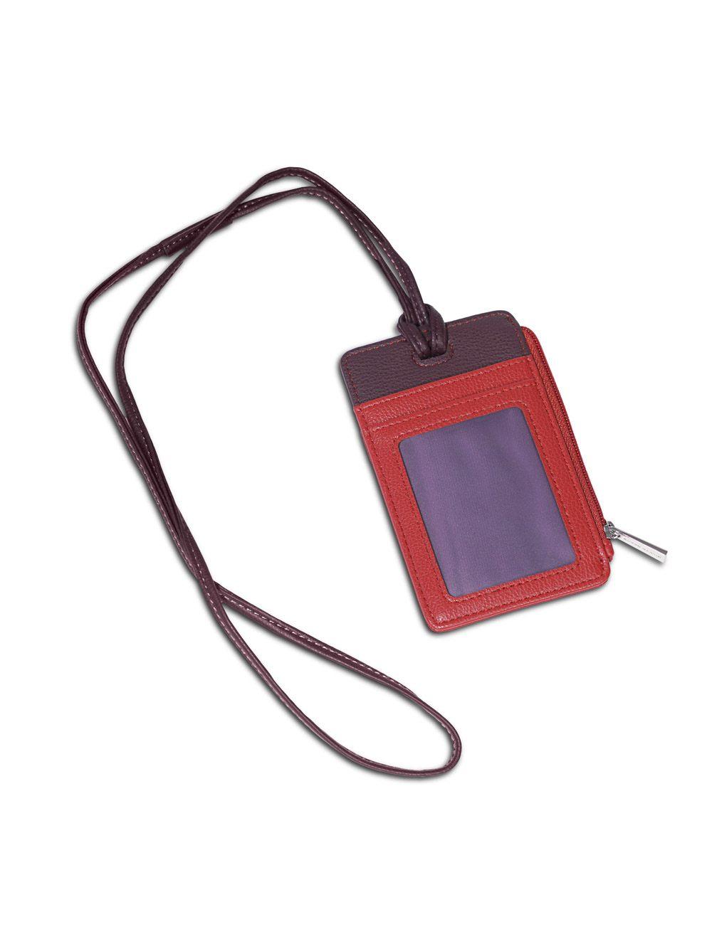 Porta Badge Colombo - Rosso Ciliegia