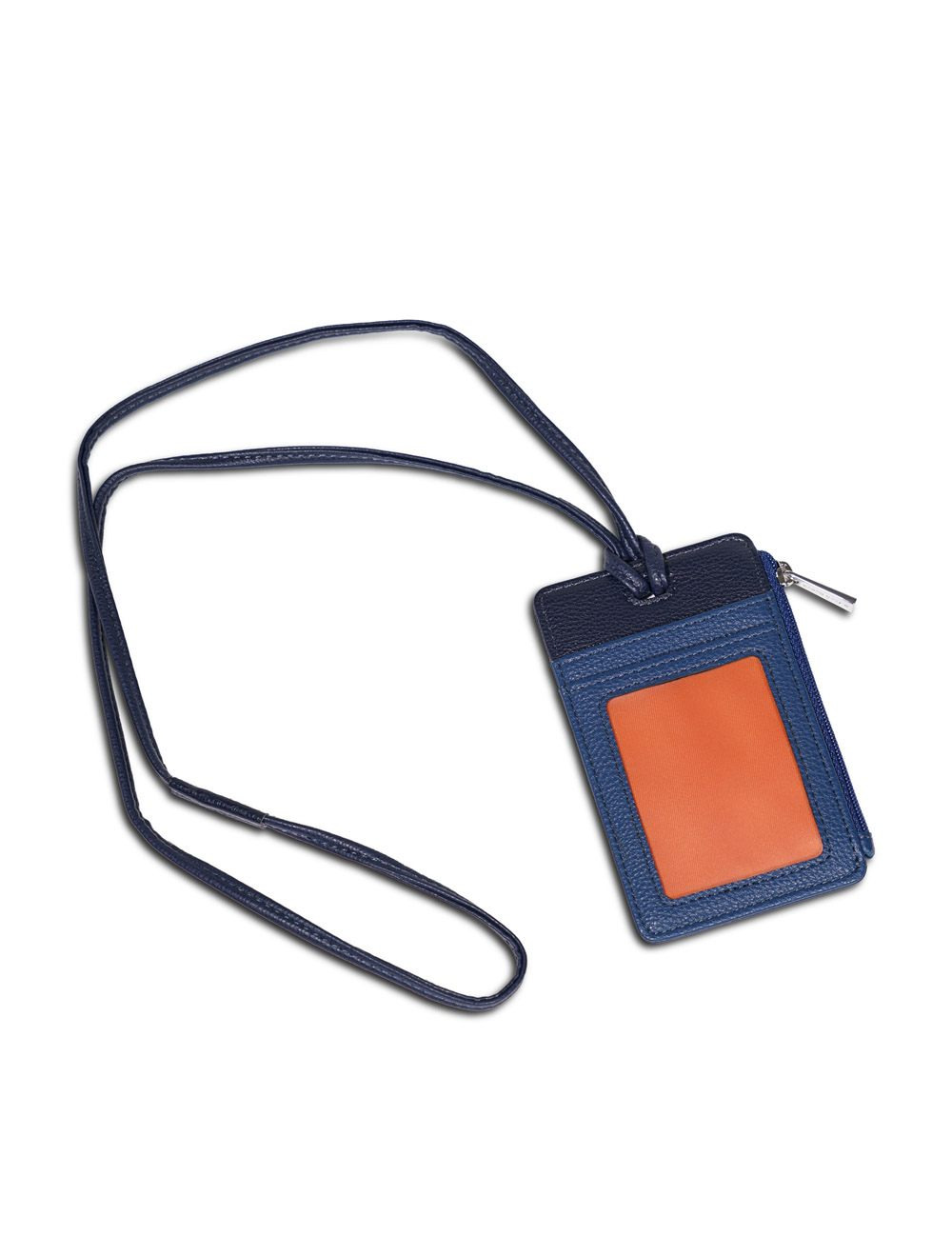 Porta Badge Colombo - Blu Petrolio