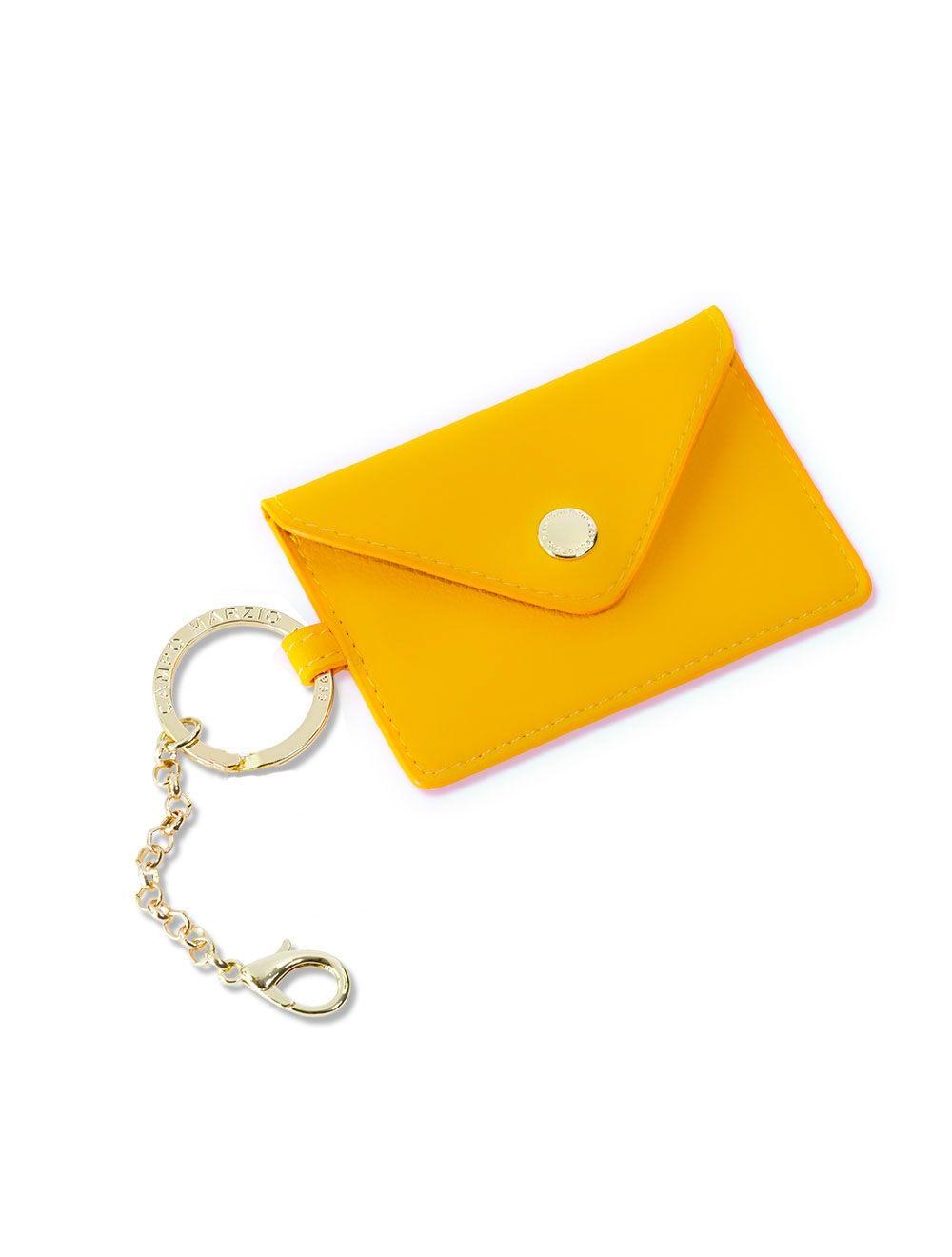 Lev Business Card Holder - Sulphur