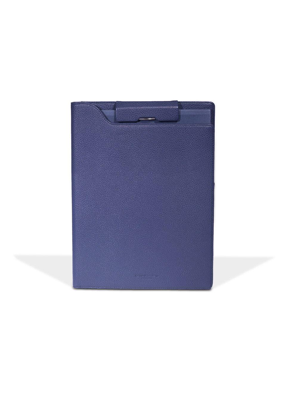 Portfolio Clip A4 Hudson - Blu Oceano