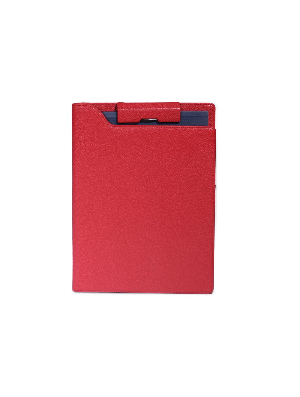 Portfolio Clip A4 Hudson - Rosso Ciliegia