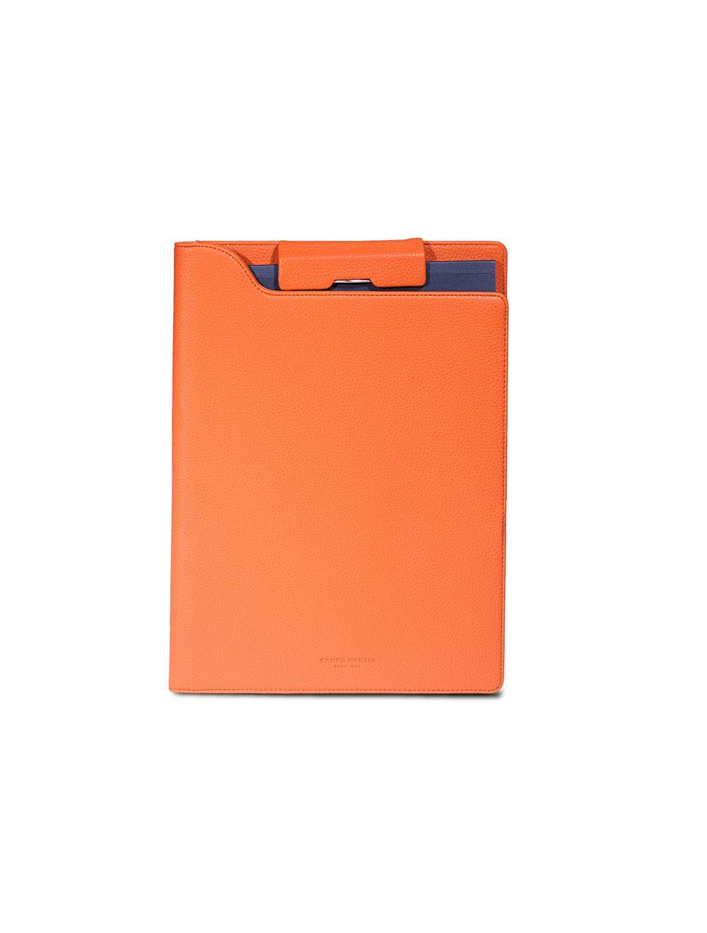 Portfolio Clip A4 Hudson - Mandarino