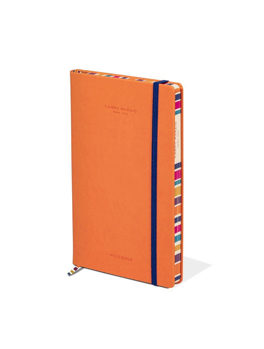Notes 13x21 Multicolor Edge - Mandarin