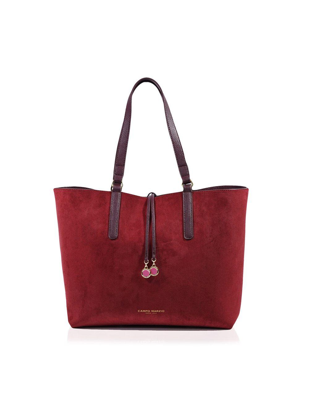 Shopping Bag Danielle - Red Wine